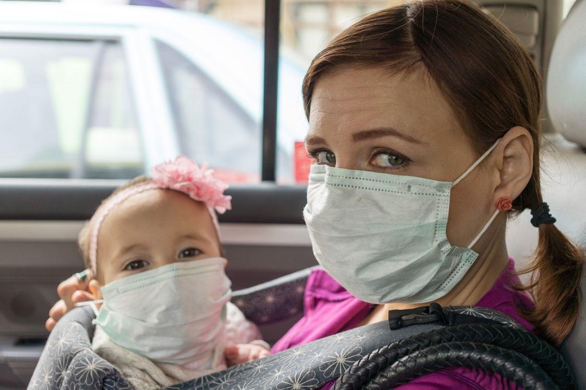 Los bebés también pueden contraer COVID-19.