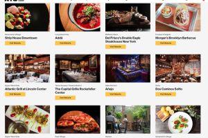 """""""Dine in NYC"""", la iniciativa para apoyar a los restaurantes locales que están sufriendo la crisis"""