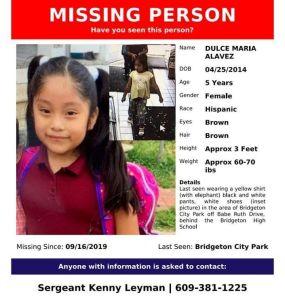 Celebran con esperanza cumpleaños de Dulce María, niña desaparecida hace 7 meses en Nueva Jersey