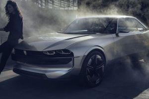 Peugeot e-Legend, el auto más espectacular de la marca que tal vez nunca vea la luz