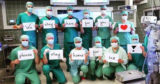 El sindicato que representa a enfermeros pidió al gobierno federal más máscaras y guantes.