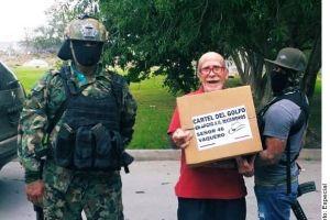 Exhiben narcodespensas ahora en Matamoros