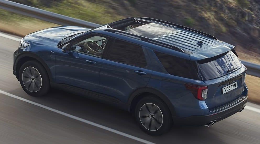 Ford Explorer 2021. Crédito: Cortesía Ford.