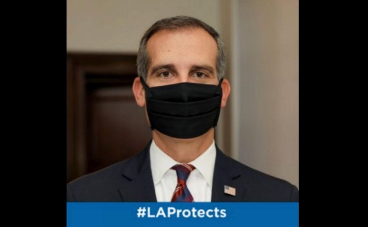 El alcalde de Los Ángeles propone recortes severos como respuesta a la caída de los ingresos por la pandemia. (Cortesía).