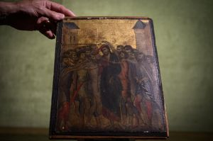 Obras de Arte Pasión de Cristo Semana Santa robos subastas arte millones El Greco Cimabue Francia Caravaggio Irlanda Sábado de Gloria Jueves Santo viernes Santo Cristo Burlado