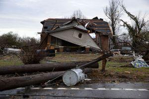 Tornados, lluvias y tormentas eléctricas al mismo tiempo en varios estados de EEUU