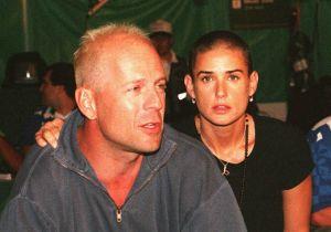 Bruce Willis celebra el día de la madre con su ex Demi Moore y su actual esposa Emma