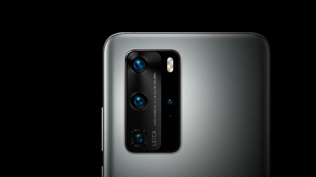El fabricante chino Huawei presentó sus nuevos teléfonos inteligentes.