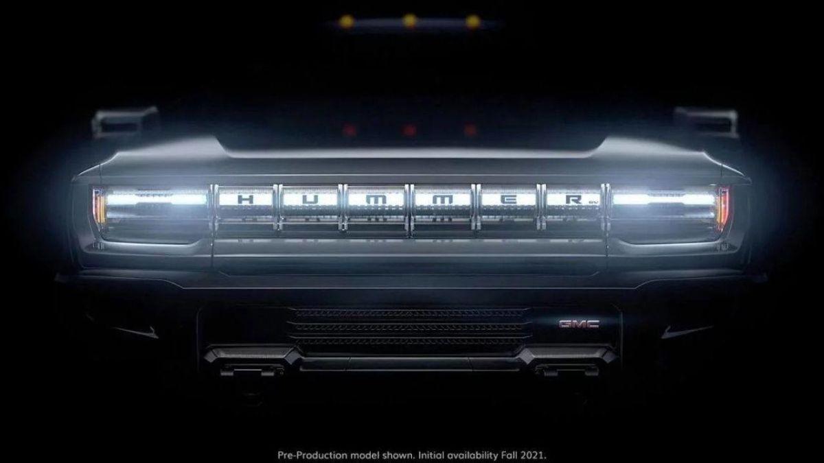 Se estima que la llegada de la nueva Hummer EV sea para el verano de 2021.