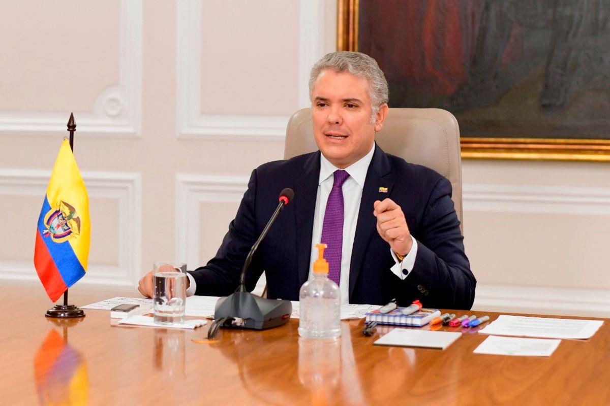El presidente de Colombia extendió el aislamiento preventivo 14 días más.