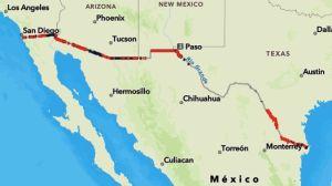 Gobierno de Trump presume avance del muro fronterizo en medio de la pandemia