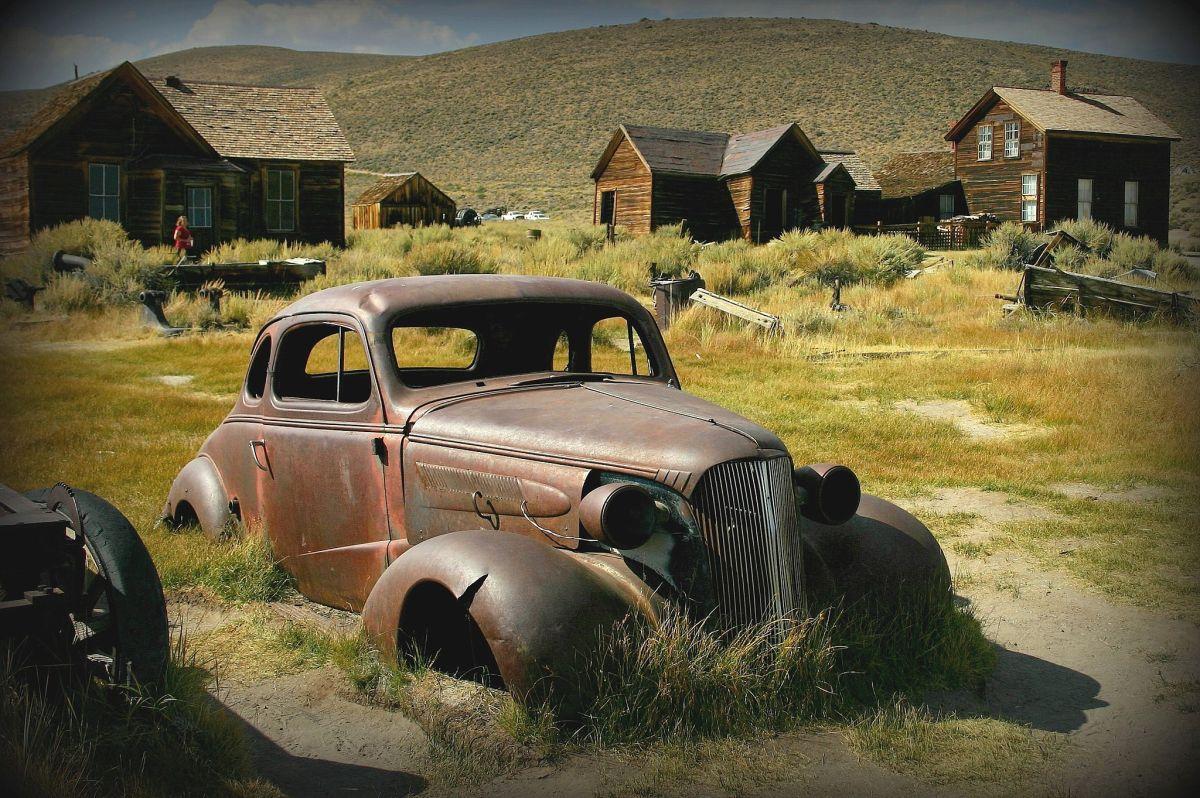 Bodie State Historic Park es un verdadero pueblo fantasma de la época de la minería de oro de California.