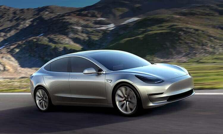 Tesla Model 3. Crédito: Cortesía Tesla.