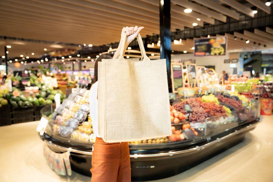 Las mejores bolsas reusables para cuando vas de compra por tus alimentos al supermercado
