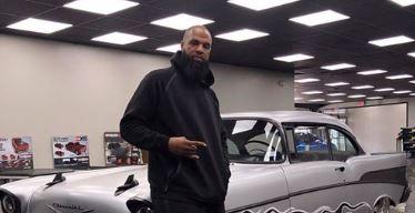 El rapero Slim Thug de Houston.