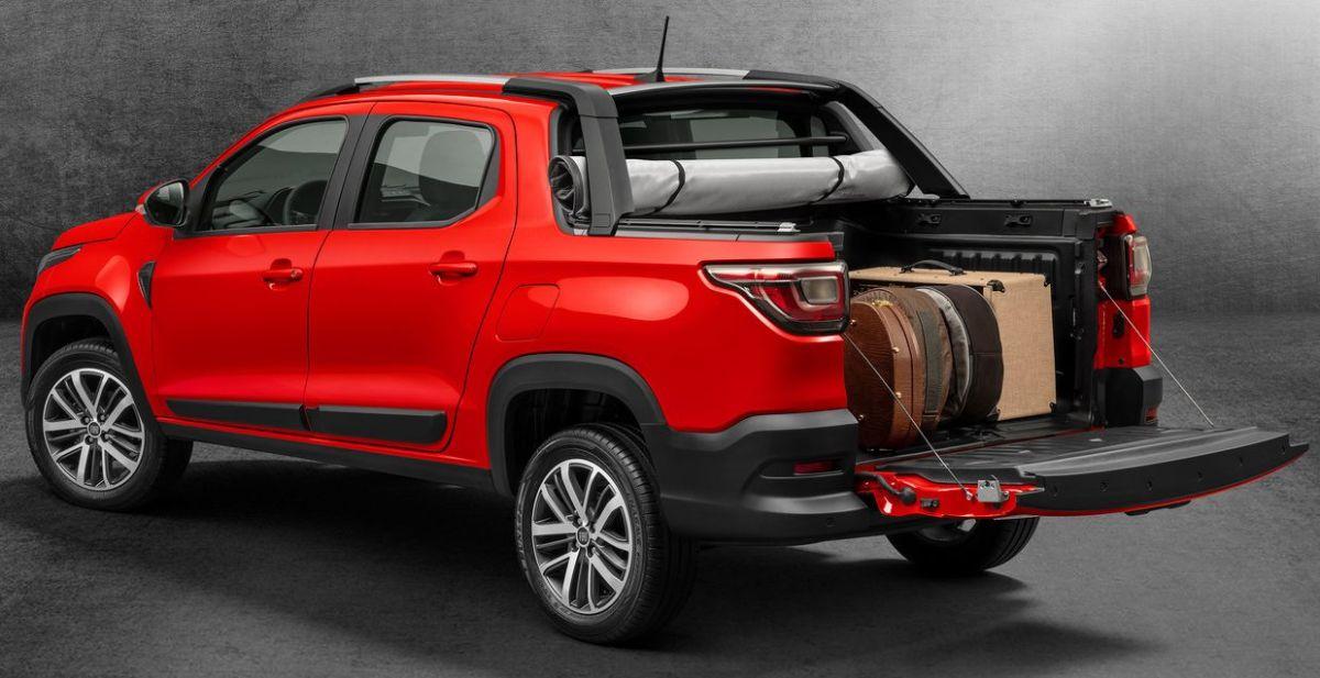 Fiat Strada 2021. Crédito: Cortesía Fiat.
