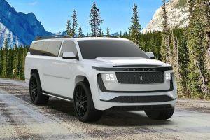 Este es el Triton Model H, el gigantesco SUV eléctrico de 8 plazas