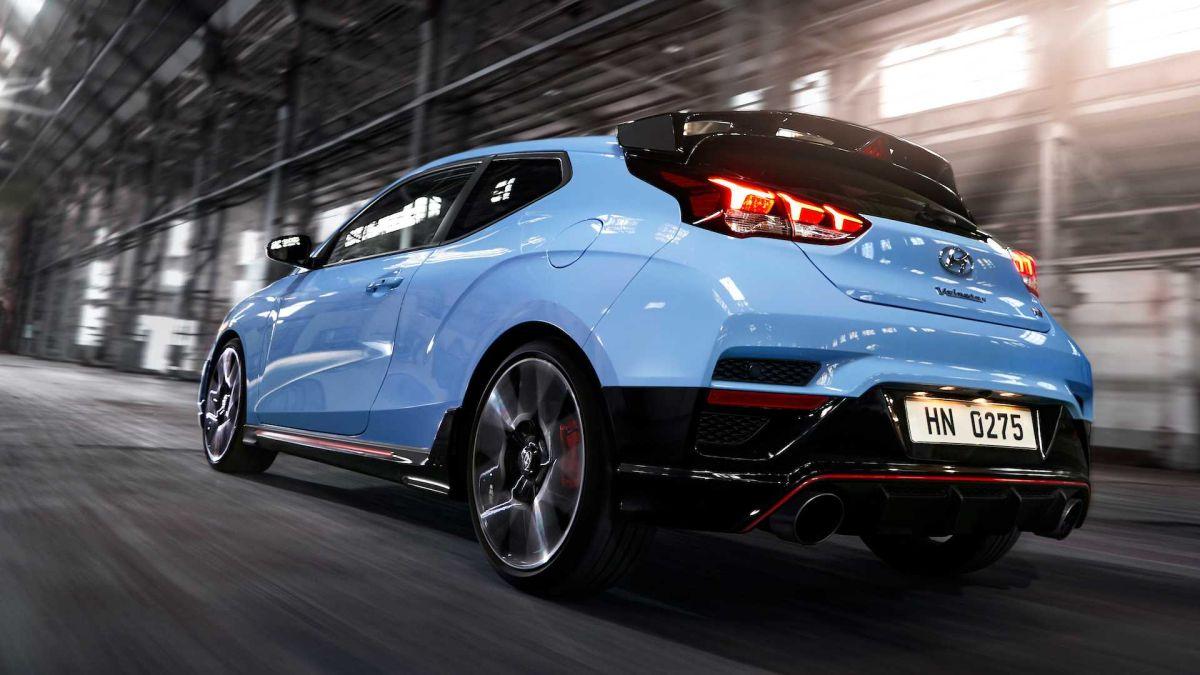 Hyundai Veloster N. Crédito: Cortesía Hyundai.