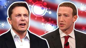 Elon Musk y Mark Zuckerberg se enfrentan por la duración de la cuarentena por el coronavirus