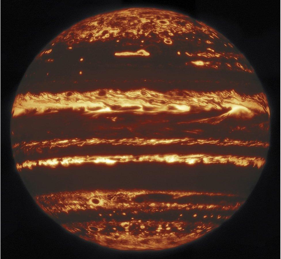 Foto de Júpiter: la extraordinaria imagen del planeta gigante que astrónomos construyeron con un mosaico de fotos