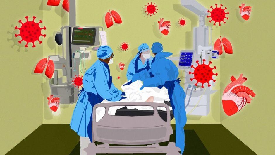 De enfermedad respiratoria a multisistémica: cómo en poco tiempo cambió el coronavirus