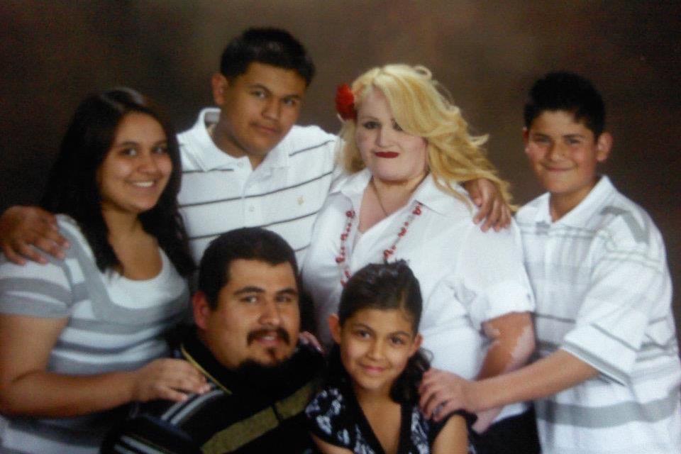 Los 10 integrantes de la familia Ramírez se infectaron con COVID-19.
