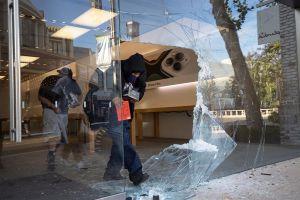 Los Ángeles: tiendas de lujo de Rodeo Drive y Melrose no se salvan de los saqueos