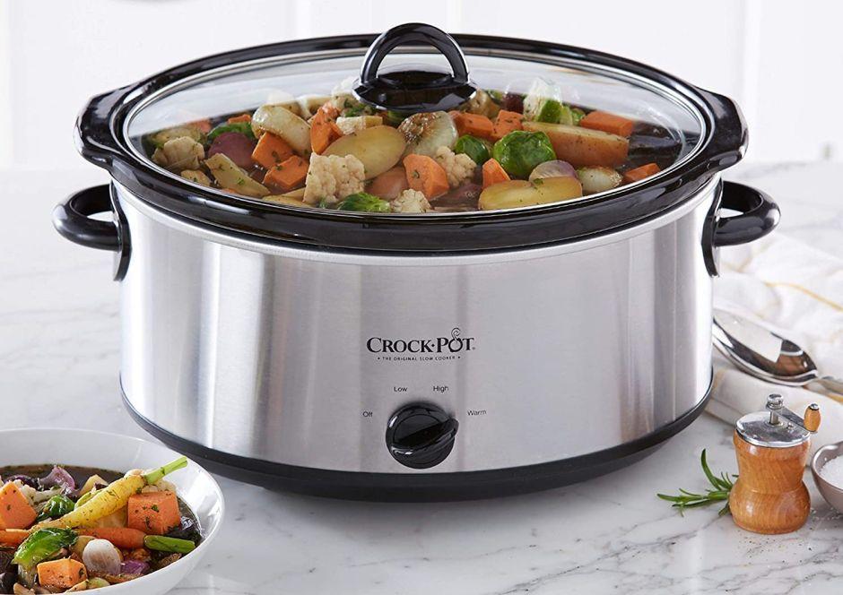 ¿Cuál es la mejor olla de cocción lenta para preparar guisos y sopas?