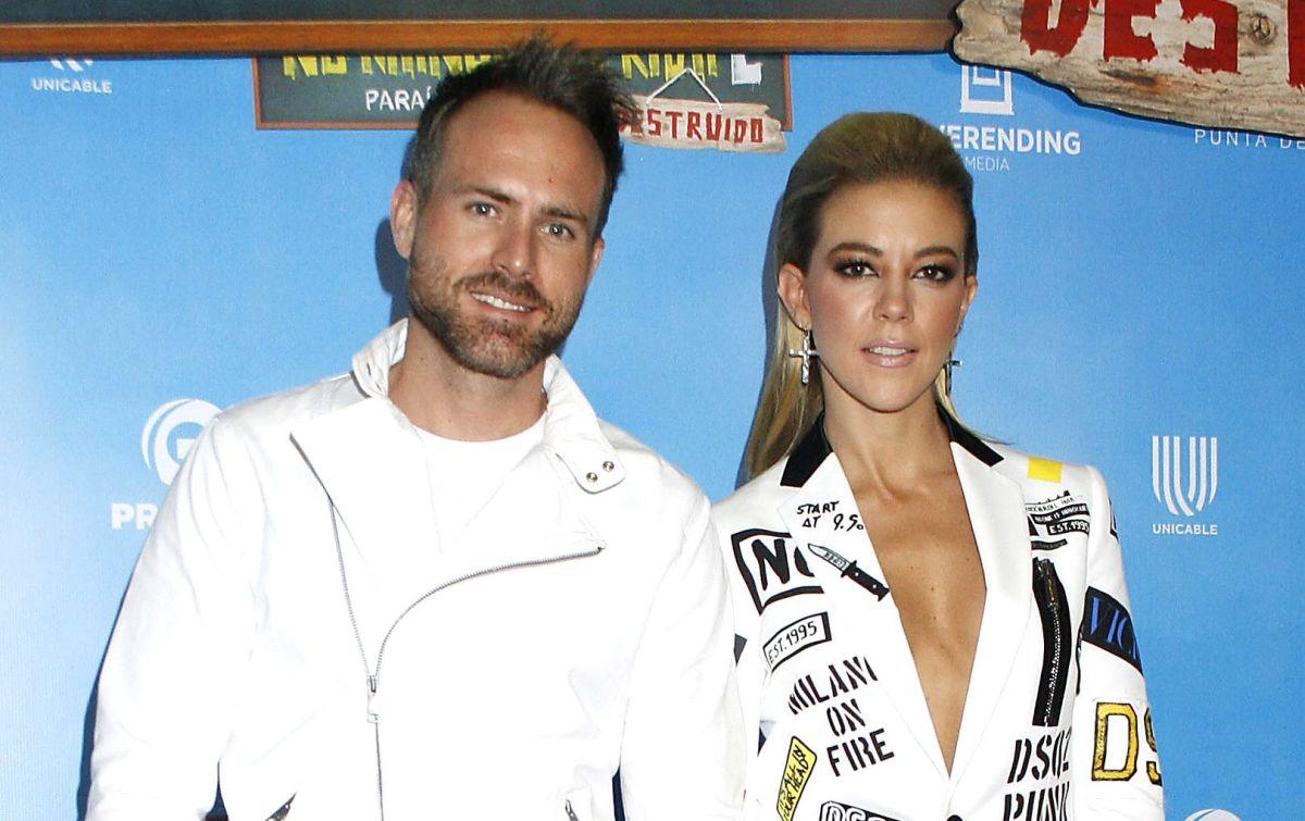 Fernanda Castillo y Erik Hayser.