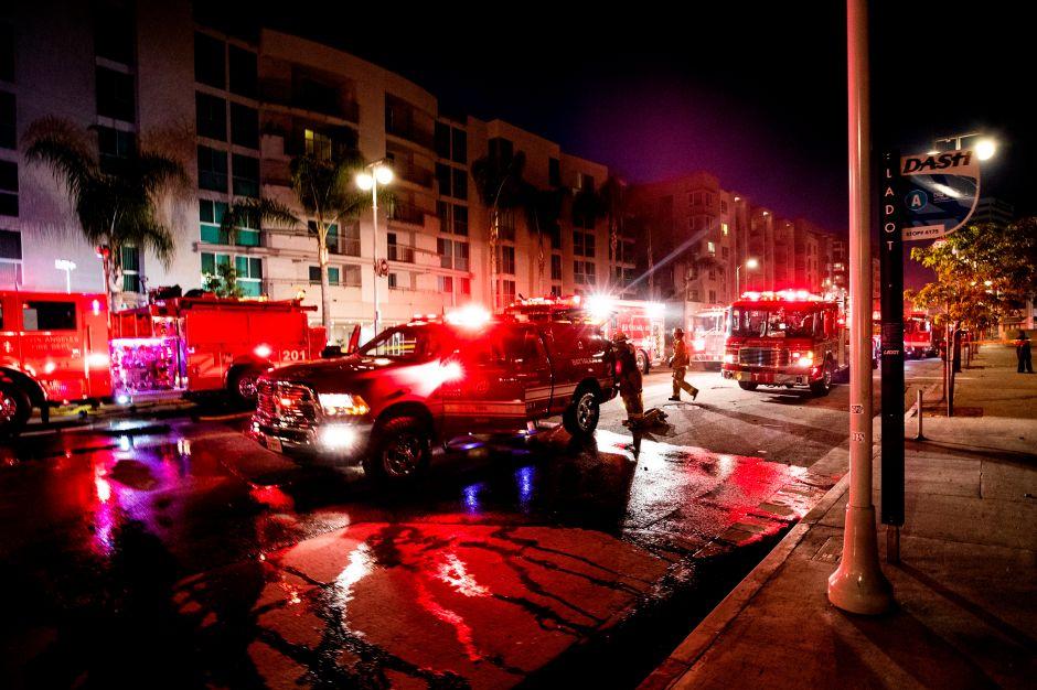 Incendios en la ciudad de Niland, California acabó con más de 40 casas