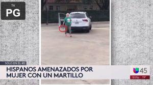 "Mujer con martillo en mano agrede a ecuatorianos: ""¡F*** mexicanos, regresen a su f*** país!"""