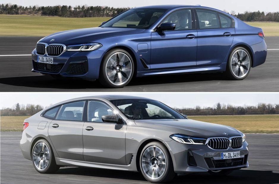 Los Series 5 y Serie 6 Gran Turismo de BMW se muestran renovados