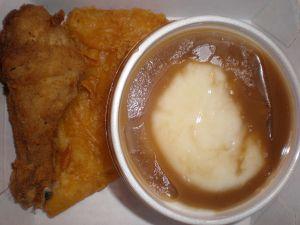 Cómo hacer un perfecto puré de papá con salsa gravy estilo KFC