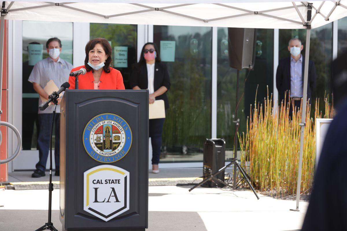La Supervisora del condado de Los Ángeles, Hilda Solís confirmó la aprobación de la iniciativa.