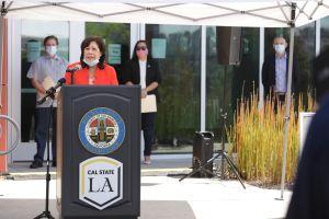 Cal State LA abre zona para realizarse pruebas de COVID-19