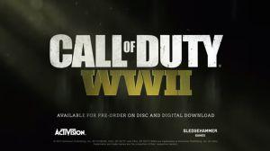 "PlayStation confirma que dará gratis ""Call of Duty: WWII"""