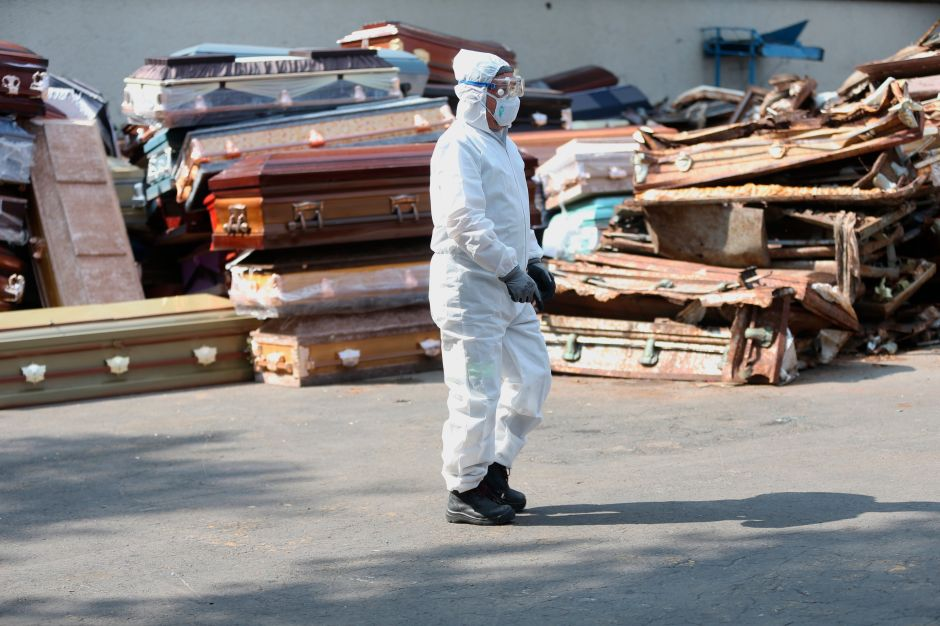 México se acerca a los 7,000 muertos luego de su tercer día consecutivo con más de 400 decesos