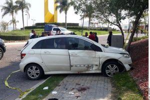VIDEO: Balacera y persecución en zona exclusiva de Puebla; caen dos integrantes del Cártel de Sinaloa