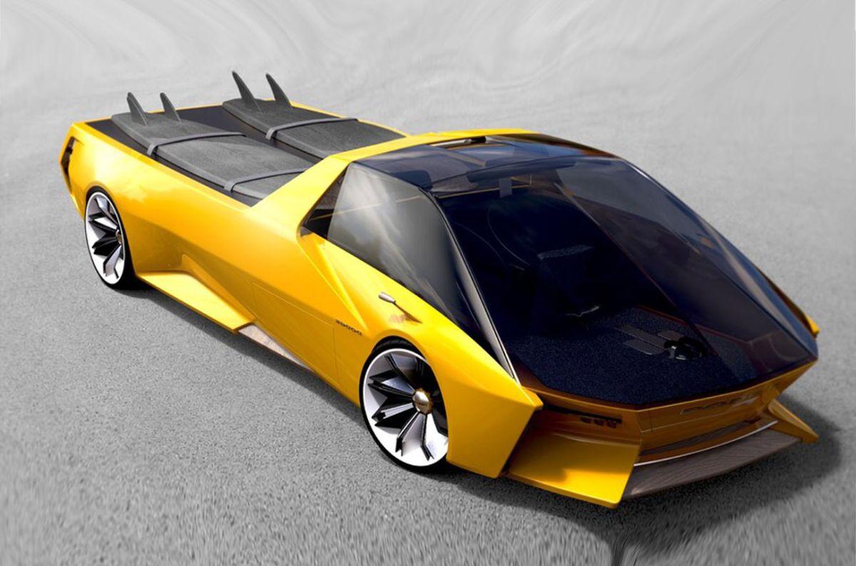 Dodge Deora, un Hot Wheels en la imaginación futurista