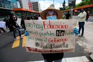 Coronavirus: Trabajadores protestan contra Ley Humanitaria en Ecuador