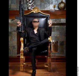 Así fue el funeral del Chino Ántrax, el sicario del Cártel de Sinaloa que salió con Paris Hilton