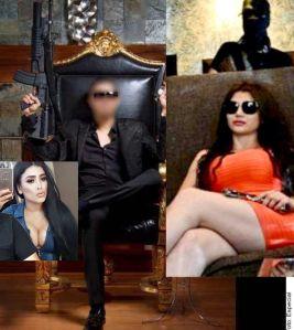 El trágico final del Chino y la Emperatriz Ántrax ligado a los hijos del Chapo Guzmán