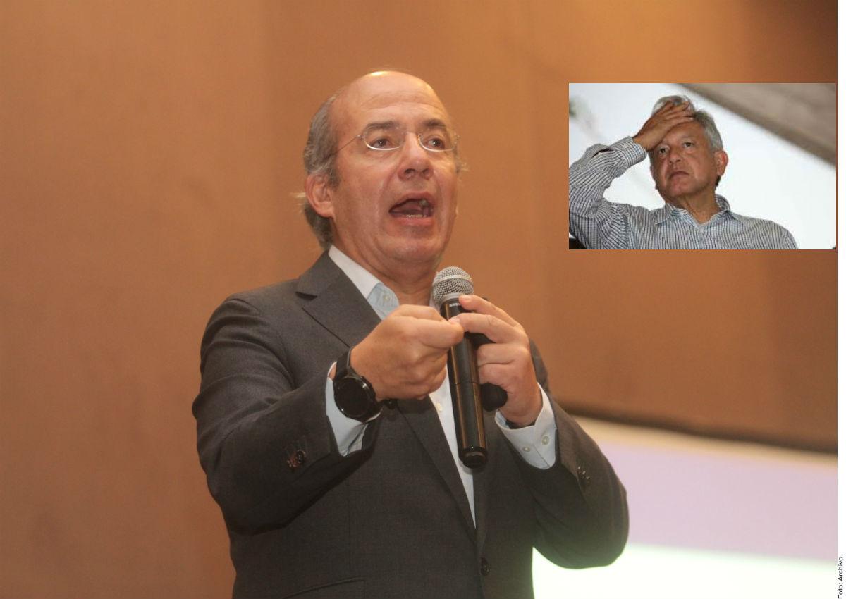Felipe Calderón y AMLO