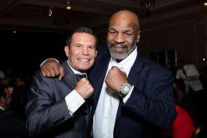 Dos leyendas se reúnen: Mike Tyson invitó a Julio César Chávez a una pelea de exhibición