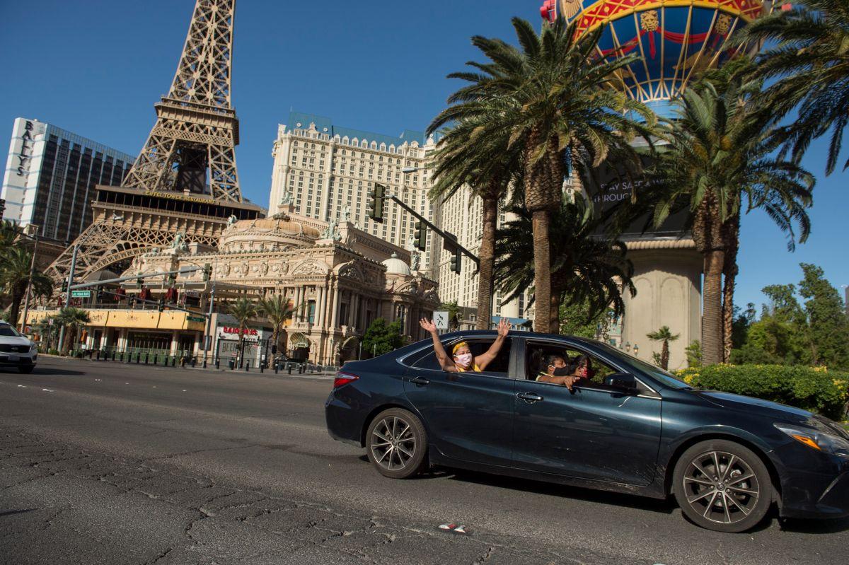 Los casinos de Las Vegas podrían reabrir el 4 de junio