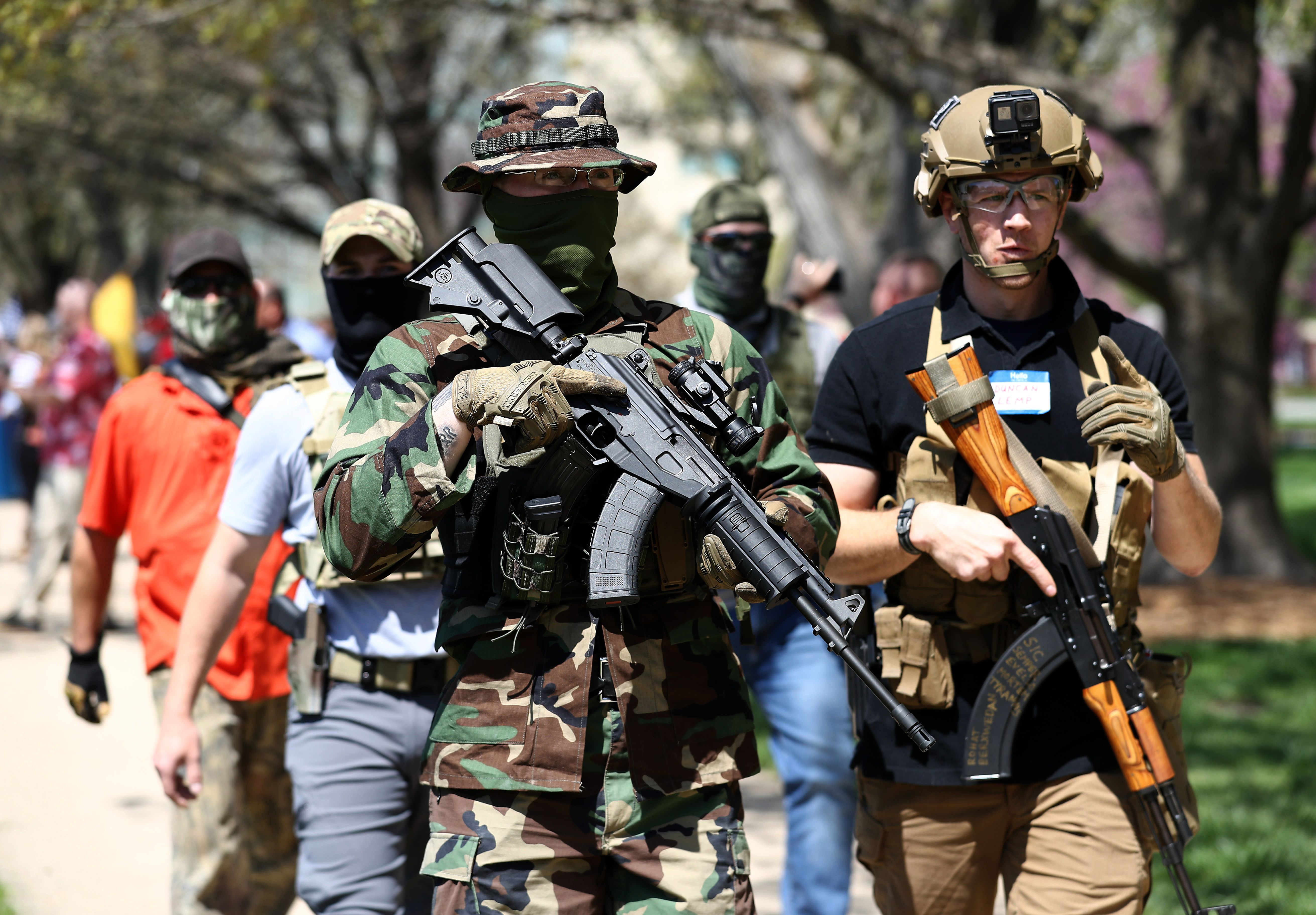 Protestas armadas en Kansas