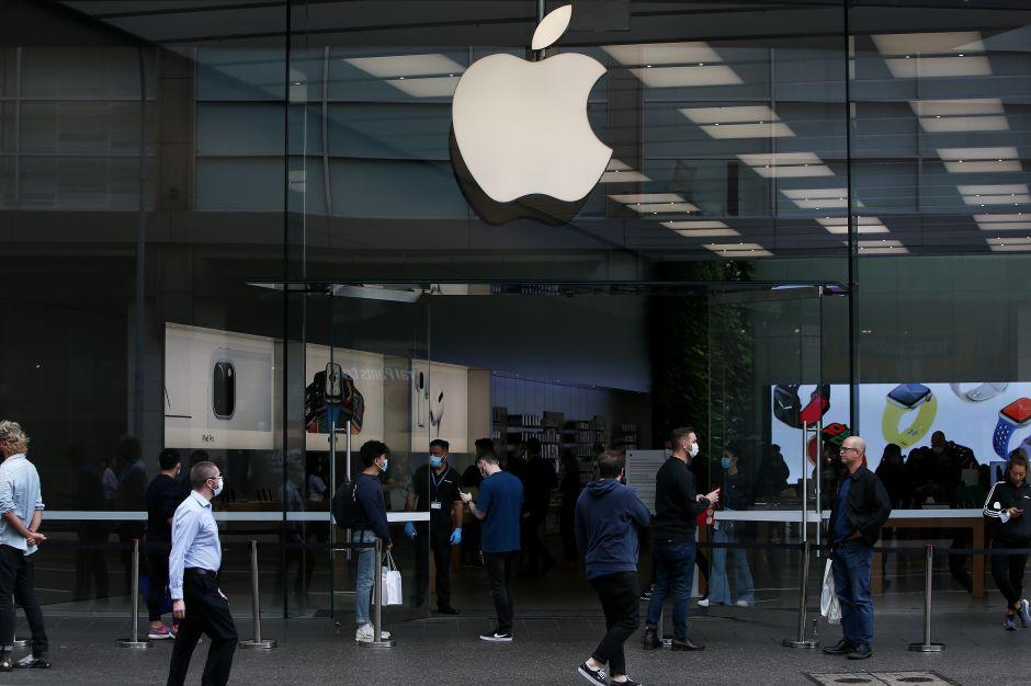Apple anuncia la reapertura de algunas de sus tiendas en Estados Unidos