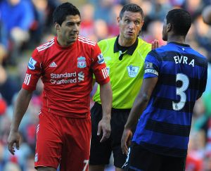 Patrice Evra revela que quiso golpear a Luis Suárez por un incidente de racismo