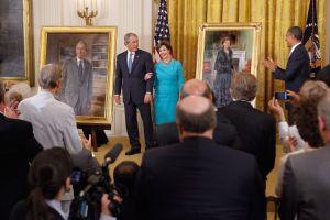 Trump se resiste a desvelar el retrato del expresidente Barack Obama en la Casa Blanca