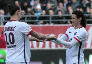 Edinson Cavani es uno de los cuatro jugadores a los que odia Zlatan Ibrahimovic
